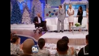 KD Smart Chair donates a wheelchair to a veteran on The Doctors Show