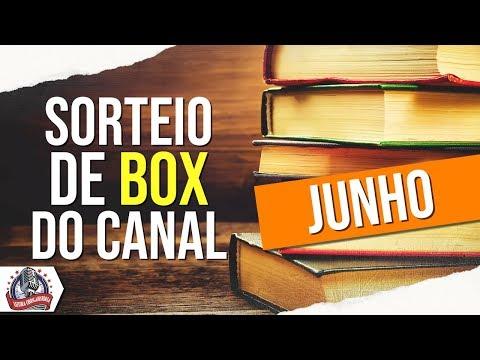 Sorteio do Box do Leitura ObrigaHISTÓRIA (junho)