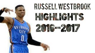 Russell Westbrook-BabyWipe- Mix
