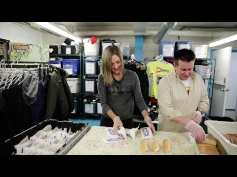 Pfizer Canada Gives a Hand