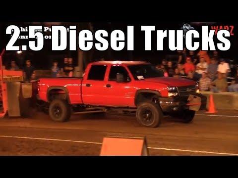2.5 Diesel Truck Class Truck Pulls From TTPA In Caro Michigan 2018