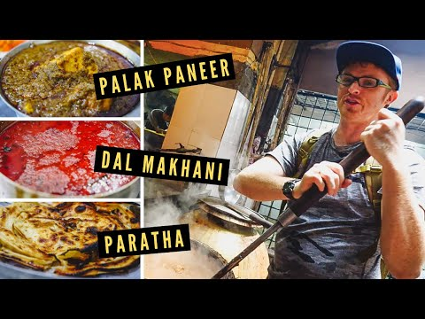 BEST PUNJABI FOOD in Amritsar: DAL MAKHANI + PALAK PANEER at Kesar Da Dhaba 100-Year-Old Restaurant!