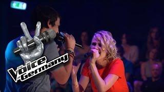 I Hate U, I Love U - Gnash   Laura vs. Fabian Cover   The Voice of Germany 2016   Battles