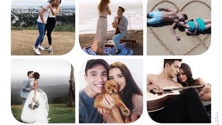 Love Me Now (lyrics video) - Jess & Gabriel (John Legend cover)