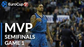 7DAYS EuroCup Semifinals Game 1 MVP: Peyton Siva, ALBA Berlin