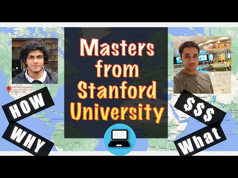 All you need to know about Masters for Software Engineering ft. Stanford PhD/Masters student