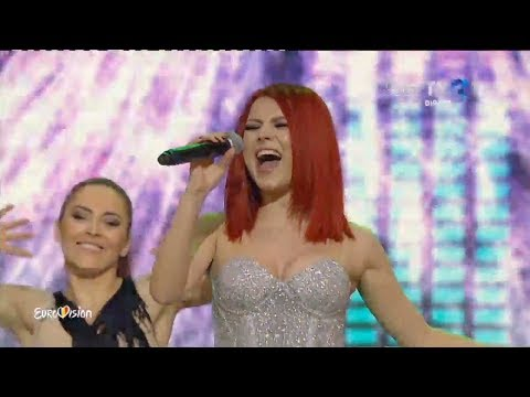 Elena Gheorghe | Semifinala Eurovision 2018