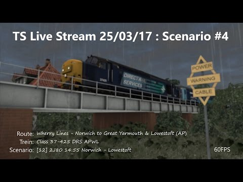 [12] 2J80 14:55 Norwich - Lowestoft (Livestream 25/03/17)