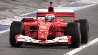 Ferrari F1 Heaven at Monza Circuit – F2004, 412 T1, F138, F2008  More!