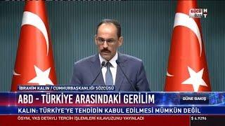 ABD - Türkiye arasındaki gerilim