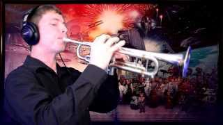 """Star Wars: Main Title (from the movie franchise """"Star Wars"""") TRUMPET COVER HD"""