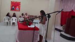 Daiane cantando Protegido Djil
