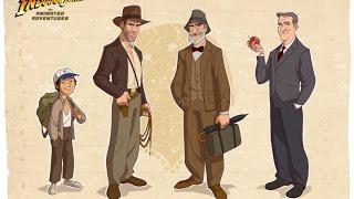 Indiana Jones Incrível curta em animação com o personagem