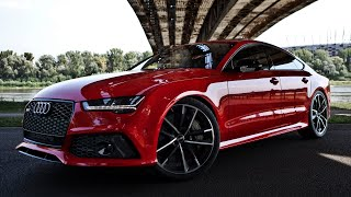 2017 605hp Audi RS7 Performance - details, launch, acceleration, interior