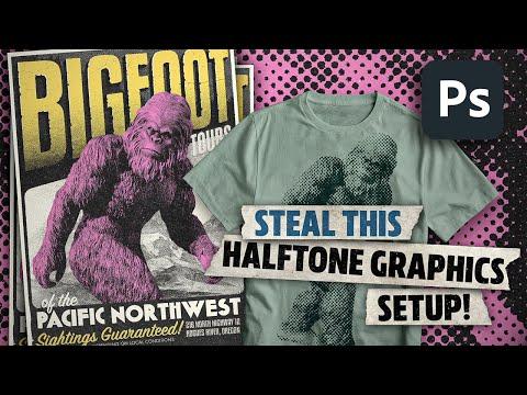 Retro Halftone Effects in Photoshop!