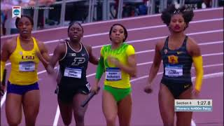 USC Women's 4x400 - 2018 NCAA Indoor 4x400 Final