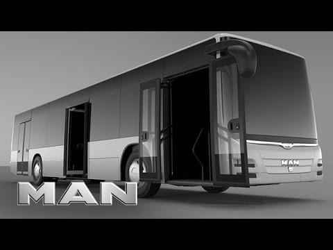 MAN - Pneumatischer Türantrieb Bus (German version)