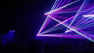 Best Oldies Ministry laser show Prievidza 12.5.2017
