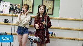 에이프릴(April) 채경 & 채원 'Be My Baby' 라이브 LIVE / 170605[이홍기의 키스 더 라디오]