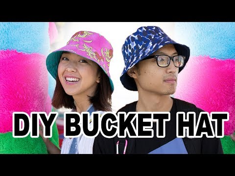 DIY Bucket Hat | Thrifted Transformations Ep. 73