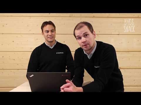 Byggsnack med Björn och Mattias
