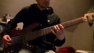 Skid Row Piece Of Me - Bass Cover