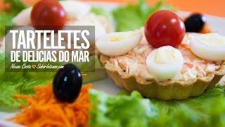 Receita de Tarteletes de Delicias do Mar