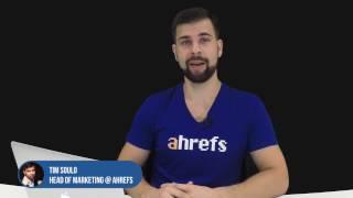 Ahrefs video