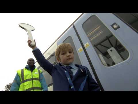 MEET FIVE-YEAR-OLD MAX - THE CUTEST TRAINSPOTTER EVER