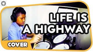 Life Is A Highway Drum Cover (My Drum School)