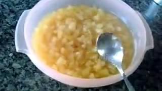 Como cozinhar o abacaxi para usar em recheios
