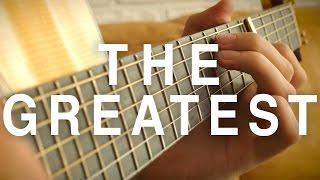 Sia - The Greatest ft. Kendrick Lamar [Fingerstyle Guitar Cover by Eddie van der Meer]