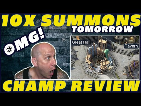 10x SUMMONS & CAMPFIRE! OMG RAID TEASE LEGENDS