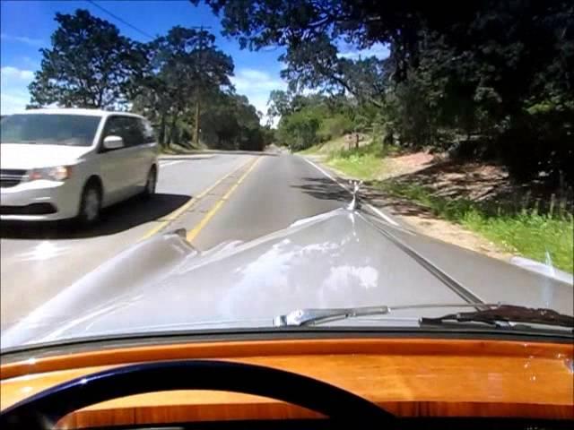 1962 Rolls Royce Silver Cloud II Test Drive in Sonoma Wine Country