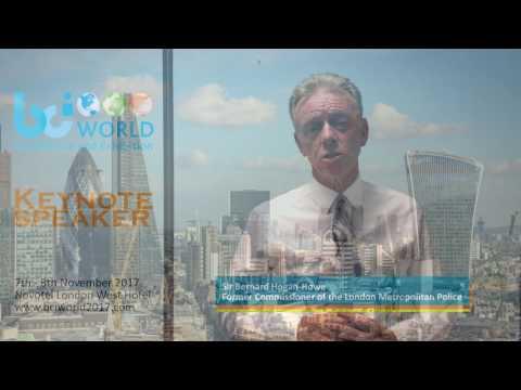 Sir Bernard Hogan-Howe, keynote speaker at the BCI World Conference - Part I