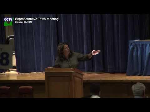 Representative Town Meeting, October 28, 2019 (final)