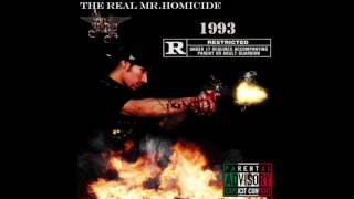 NEW 2017 Chicano Rap Diss - Better Run - The Real Mr.Homicide - 1993 MixTape - New 2017
