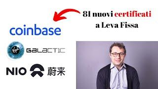 Da Société Générale 81 nuovi Certificati a Leva Fissa su azioni
