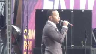 John Legend Use to Love You Sound Of Change Twickenham Stadium 01.06.13