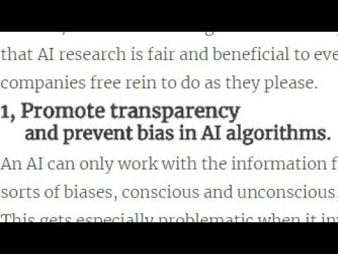 The Most Worrying Developments in Artificial Intelligence