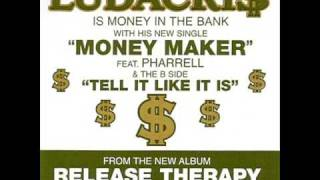 ludacris ft. pharrell - money maker [with lyrics] hight quality