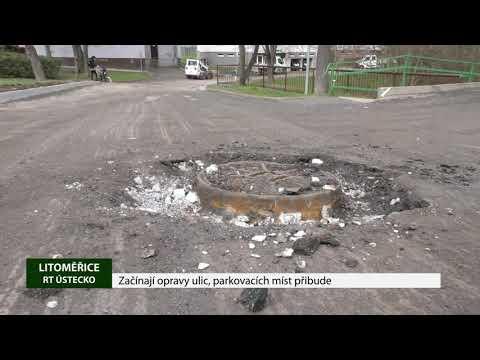 Začínají opravy ulic, parkovacích míst přibude