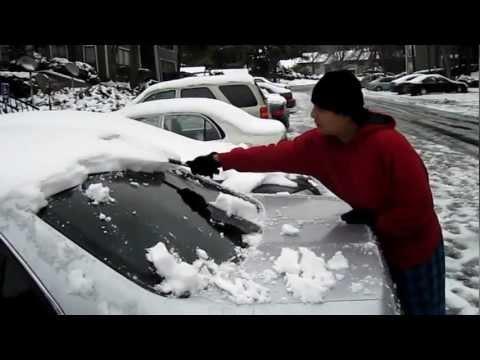 Snow Storm in Atlanta 2010
