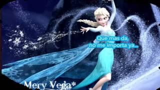 Libre Soy Karaoke Frozen con letra y voz de fondo Elsa