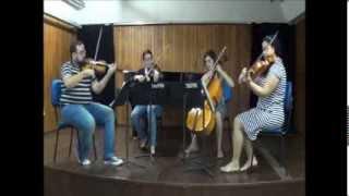 Quarteto Brasiliano - Dança da Fada Açucarada (Tchaikovsky)