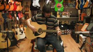 Yamaha F310 Acoustic Guitar Review by Rikki's Music Shop, Edinburgh