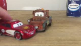 Cars tales from radiator spring mater junk yard clean up