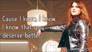 Meghan Trainor - I Won't Let You Down (Lyrics)