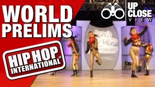 (UC) Dance Step - Ecuador (Junior Division) @ HHI's 2015 World Prelims