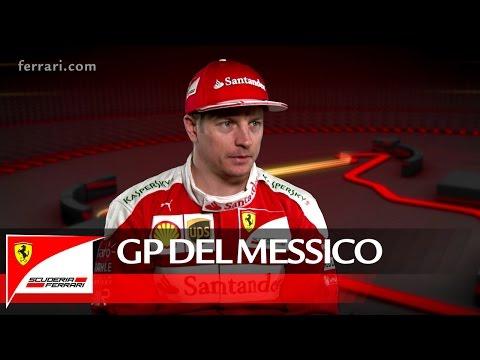 Il GP del Messico con Kimi Raikkonen – Scuderia Ferrari 2016
